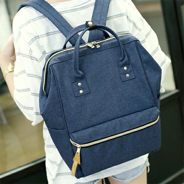 日本樂天同款後背包學生書包媽媽包旅行背包--夏日時光