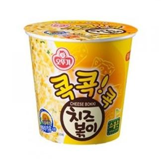 有樂町進口食品  韓國不倒翁(OTTOGI)起司風味乾拌杯麵 8801045572772 0