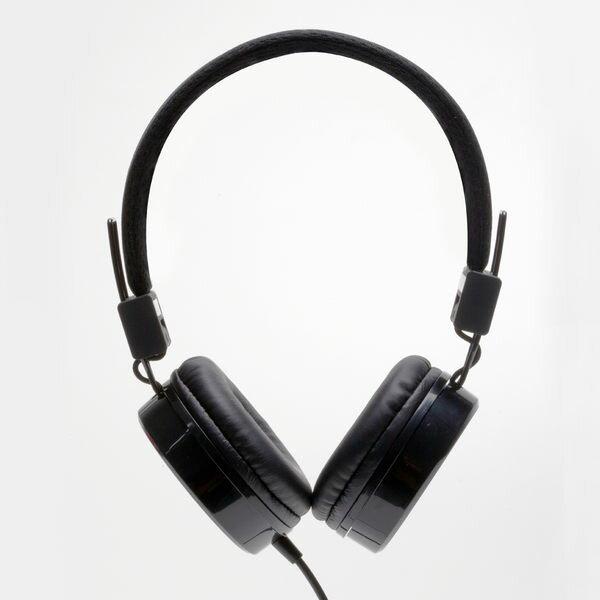 hoomia 好米亞|U1重低音耳罩式耳機耳罩式耳機 / 耳機麥克風 / 折疊 / 通話(支援通話/麥克風)-黑