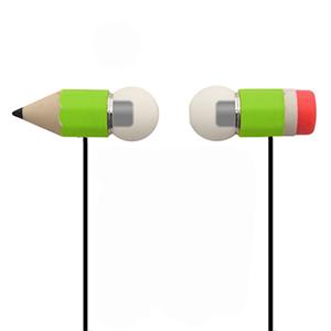 hoomia 好米亞|Magic Pencil魔術鉛筆耳機-青脆綠(支援通話/麥克風)