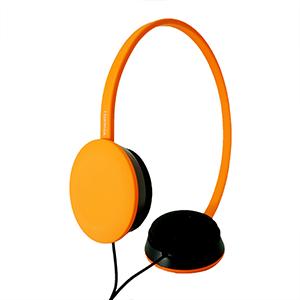 hoomia 好米亞|U2 Ace -City Life多彩生活頭戴式立體聲耳機-橘
