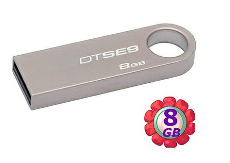 Kingston 8GB 8G 金士頓【DTSE9H】DTSE9H/8GB Data Traveler SE9 USB 2.0 原廠保固 隨身碟