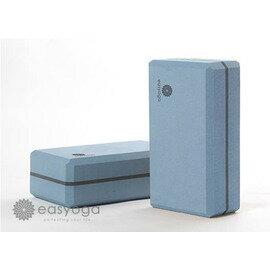 easyoga 瑜珈磚 高優質瑜珈磚 50D-藍色