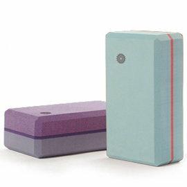 easyoga 瑜珈磚 高優質瑜珈磚 50D-水藍色