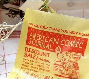 美式復古廣告包裝袋~小樹苗生活雜貨zakka~鄉村風拍照背景
