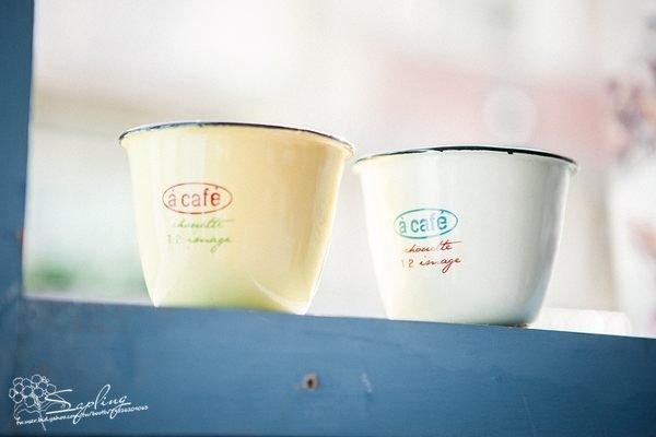 小琺瑯杯花器(分2款)~zakka~鄉村風自然日系雜貨
