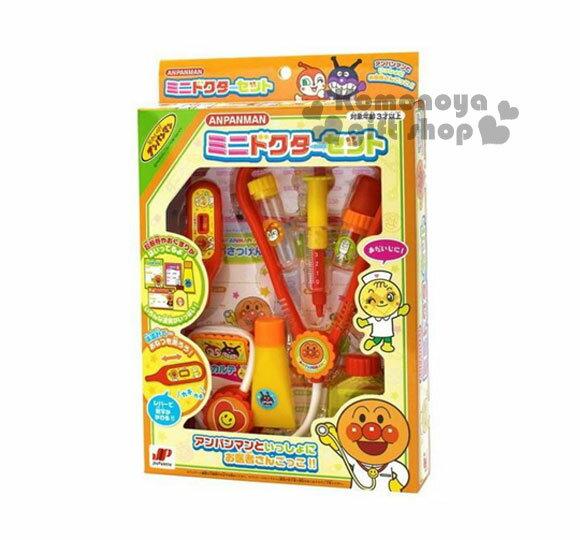 〔小禮堂嬰幼館〕麵包超人 醫生玩具《3歲以上.橘》增加親子間互動
