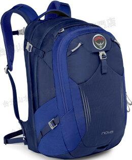 [ Osprey ] Nova 33 日用系列後背包/電腦包/旅行背包 大容量 24/Seven 女款 藍