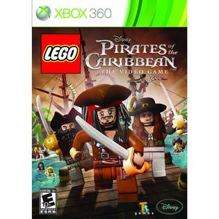 XBOX360 樂高神鬼奇航 英文美版 LEGO PIRATES OF THE CARIBBEAN支援XBOX ONE主機