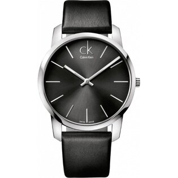 CK CITY(K2G21107+K2G23107)城市經典簡約對錶/黑面43+31mm