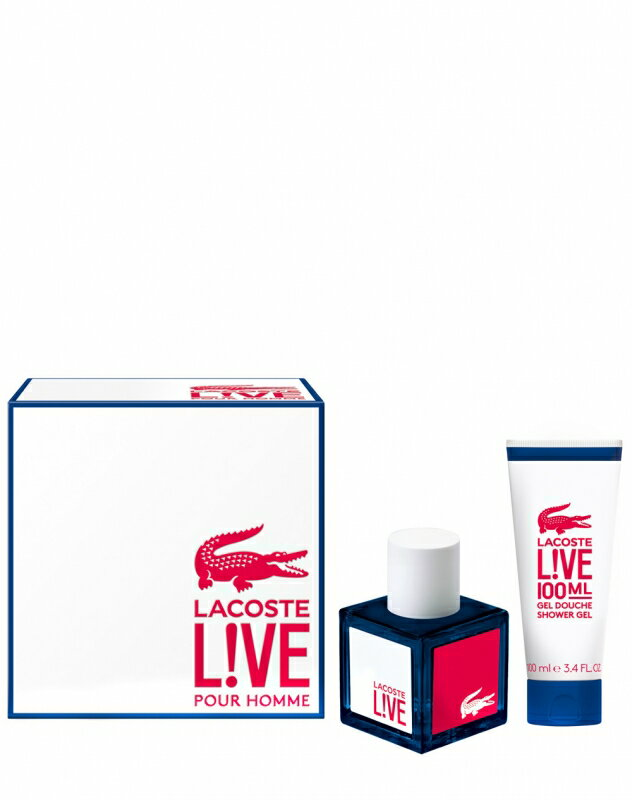 Lacoste Live Eau de Toilette 100 ml + Gel de ducha 100 ml. 0