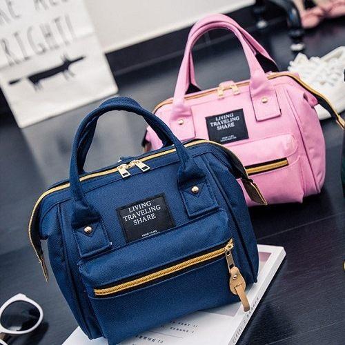 【小款-日本原宿風後背包】 韓版流行後背包 學院風旅行包 書包-時尚玩包