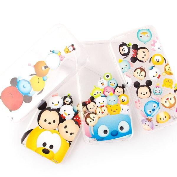 【Disney 】iPhone 6 Plus/6s Plus TSUM TSUM可愛透明保護軟套