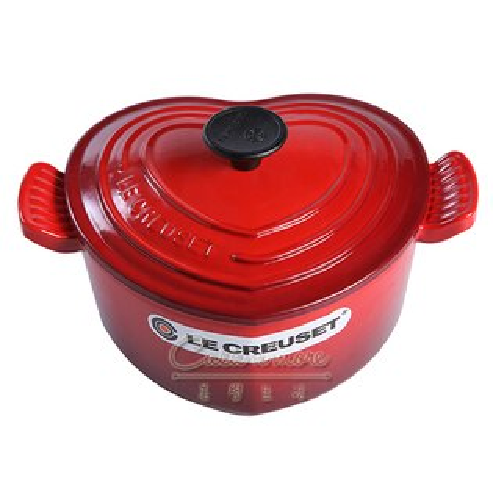 Le Creuset 愛心鍋18公分 鑄鐵鍋 法國製造