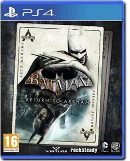 預購中 7月26日發售 英文版 [輔導級] PS4 蝙蝠俠:重返阿卡漢