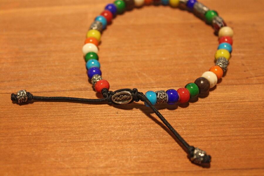 【現貨商品】【M.Cohen】南美洲高彩琉璃珠手環 (MC-B-103300-SLV 09769300OK) 2