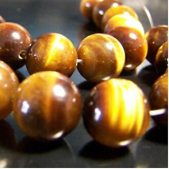 [虎石]天然寶石 12mm/8mm圓形珠 diy飾品散珠 0