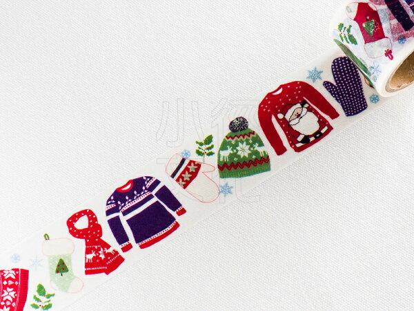 *小徑文化*日本進口 Aimez le style 和紙膠帶 - 聖誕服飾 ( JAN 5526 )