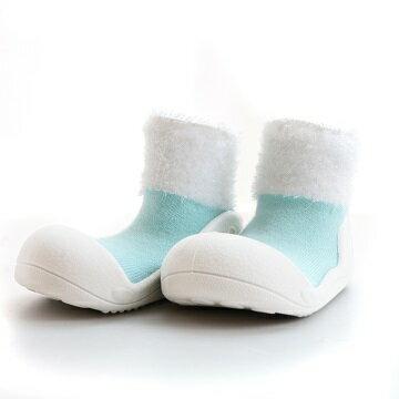 【本月特價$599】韓國【Attipas】快樂腳襪型學步鞋-馬卡龍系列(天空藍) - 限時優惠好康折扣