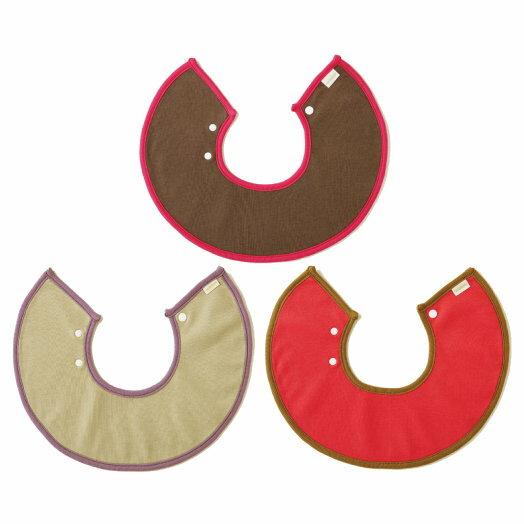 日本【MARLMARL】macaron圍兜3入組(粉紅禮盒) - 限時優惠好康折扣