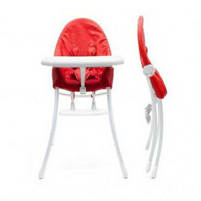 美國【Bloom】可折疊都會風白框餐椅 2