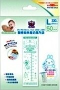 台灣【第一寶寶】二代免洗奶瓶內袋補充包(L)330ml(50入) 0