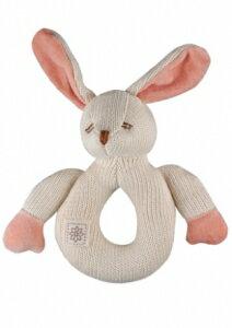 美國【miYim】有機棉咬咬牙玩具(兔兔) - 限時優惠好康折扣