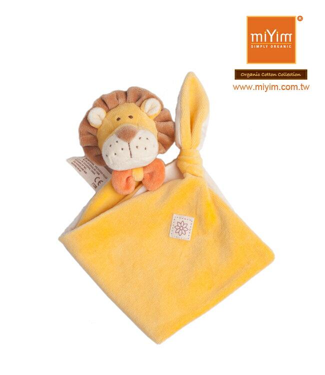 美國【miYim】有機棉系列安撫巾(里歐獅子) 0