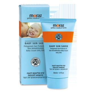 以色列【Moraz 茉娜姿】兒童防曬乳液SPF50