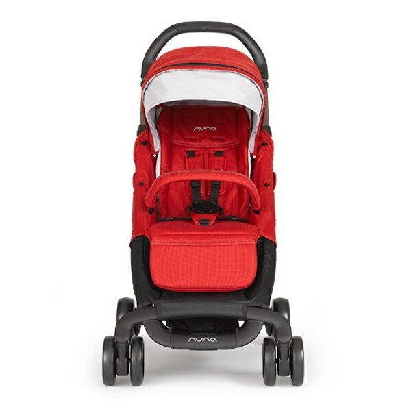 【贈4大好禮】荷蘭【Nuna】Pepp Luxx 二代時尚手推車(紅色) 1