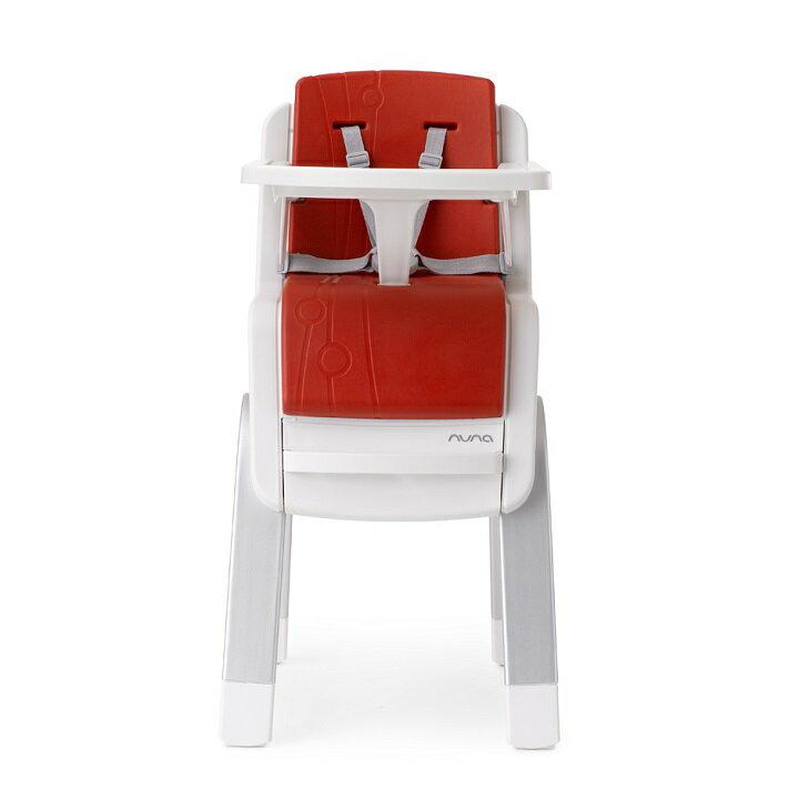 【贈鮮果園禮盒+收納袋+玩偶(隨機)】荷蘭【Nuna】ZAAZ 高腳椅(紅色) 3