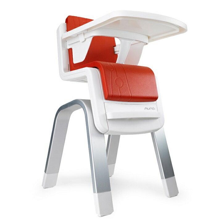 【贈鮮果園禮盒+收納袋+玩偶(隨機)】荷蘭【Nuna】ZAAZ 高腳椅(紅色) 2