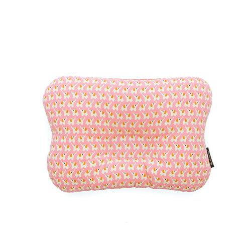 韓國【 Borny 】 3D透氣蜂巢塑型嬰兒枕(0~6個月適用) (水粉色) - 限時優惠好康折扣
