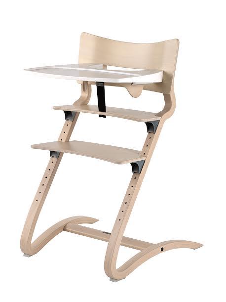 丹麥【Leander】新款二代高腳椅+二代護欄+餐盤-水洗木 - 限時優惠好康折扣