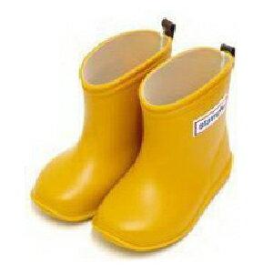 【本月贈鞋墊】日本【Stample】兒童雨鞋(布丁黃) 0