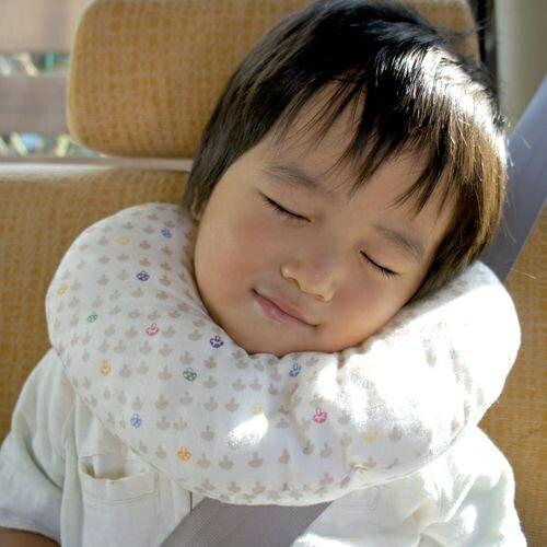 日本【Hoppetta】蘑菇多功能嬰兒枕 - 限時優惠好康折扣