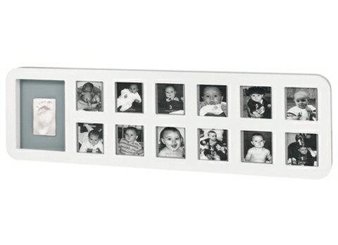 比利時【Baby Art】1st Year Print Frame週年手腳印紀念相框(白色圓框) 0