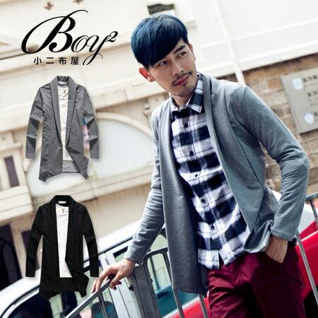 ☆BOY-2☆【NQ98042】韓版紳士棉質西裝外套 0