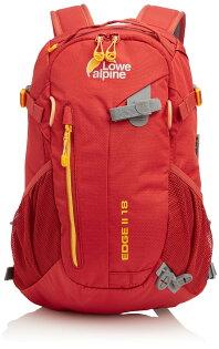 ├登山樂┤Lowe alpine Edge II 18L 休閒健行後背包 墨西哥紅 # FDP4918T