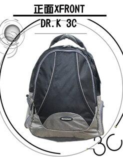 【DR.K 3C】聯想大尺寸運動型筆電透氣後背包 可放15.6吋