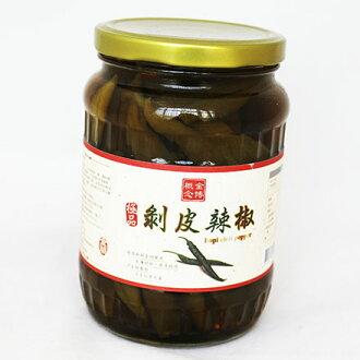 【敵富朗超巿】金博 極品剝皮辣椒(670g)