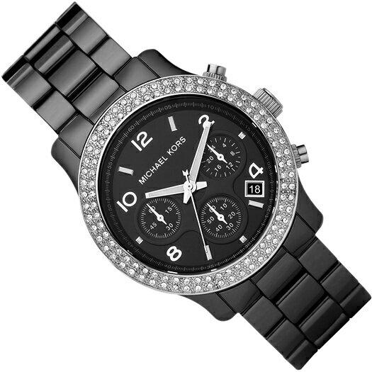 美國Outlet正品代購 MichaelKors MK 陶瓷 水鑽 三環 手錶 腕錶 MK5190 2