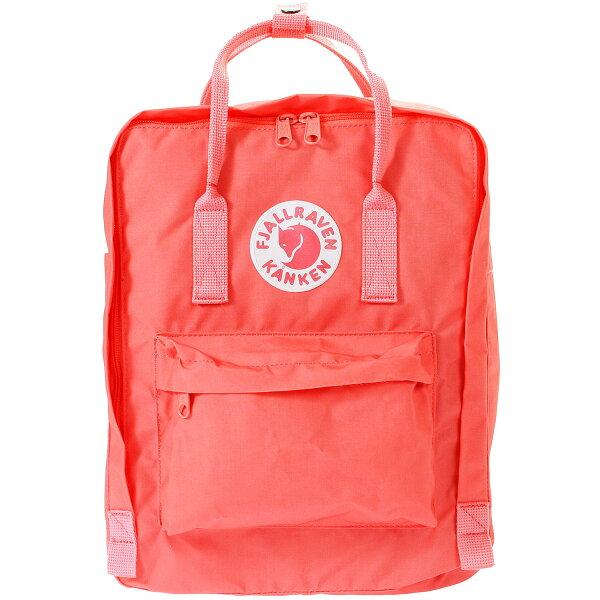├登山樂┤瑞典Fjallraven Kanken Classic 復古後背包 方型書包 # 23510 (319 Peach Pink 桃粉紅)