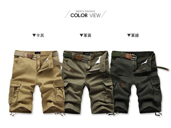 ☆BOY-2☆【NZ91001】大尺碼工作褲美式潮流口袋休閒褲 1