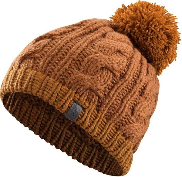 Arcteryx 始祖鳥 保暖帽/毛帽/滑雪/登山/旅遊/背包客 Cable 針織保暖帽 18880 橡木桶橘