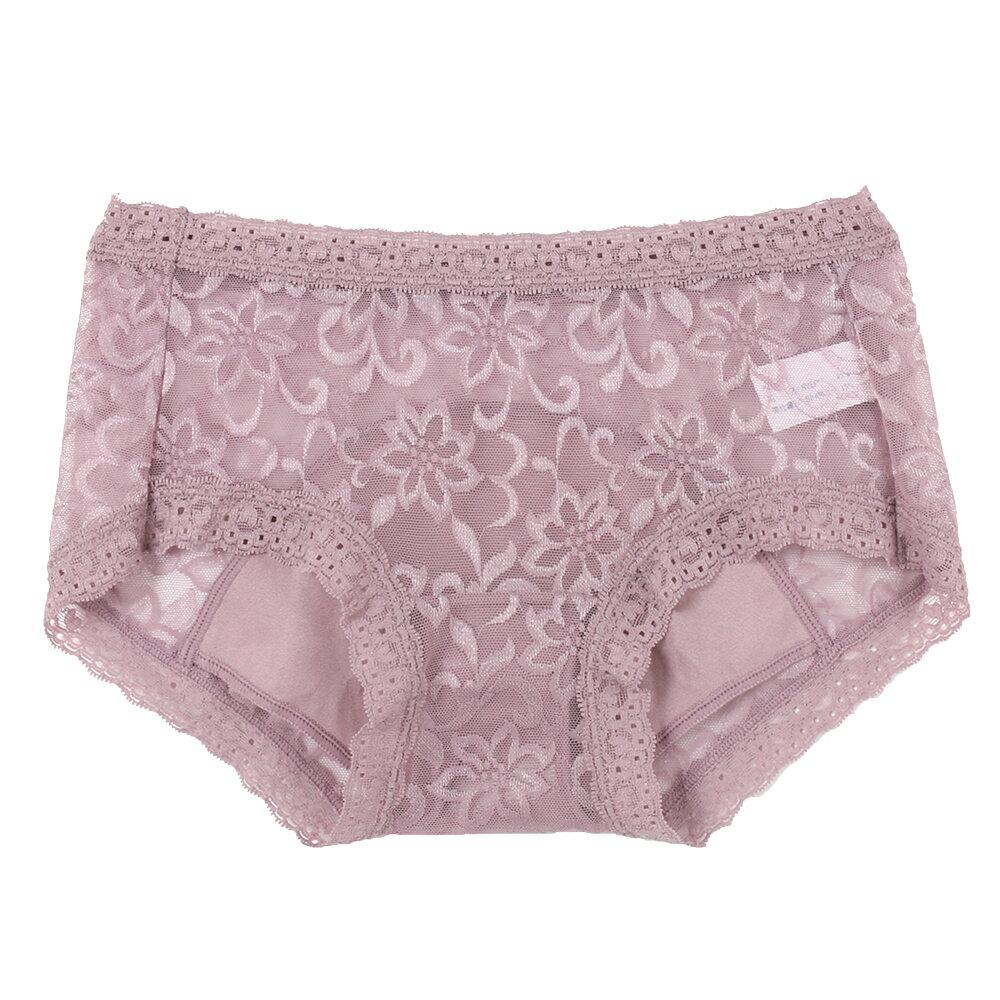 【AJM】親花超透氣低腰生理褲(隨機色) 0