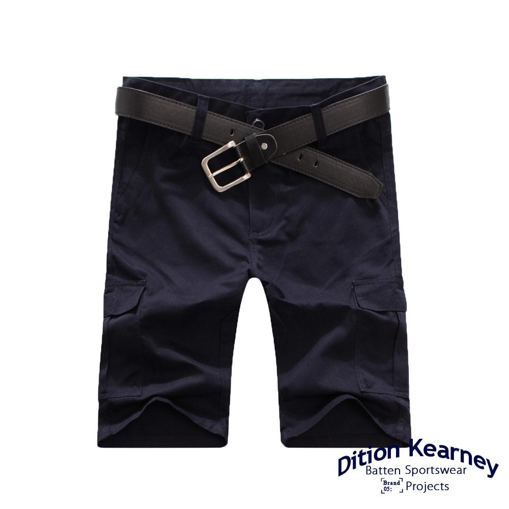 DITION   日系機能口袋outdoor工作短褲 素色 滑板 6