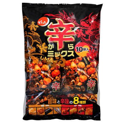 天六辣味什錦豆果子10袋入 (260g)