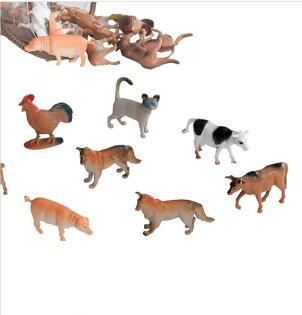 【紫貝殼】【美國B.Toys感統玩具】美國 TERRA 農場動物