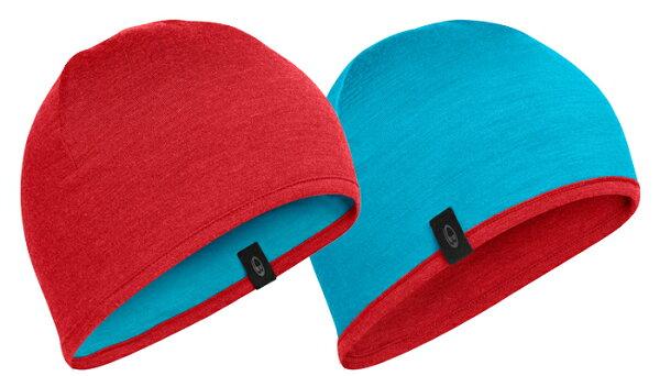 《台南悠活運動家》 ICEBREAKER 紐西蘭 AC200 雙面配色保暖帽 M200